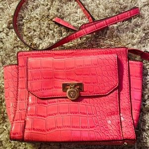 Anne Klein Women Pink Croco shoulder bag NWOT